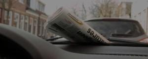 Krant als beeld bij aanmelden nieuwsbrief.