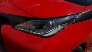 Toyota Aygo head light - background image